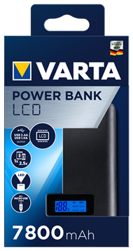 LCD Power Bank 7800