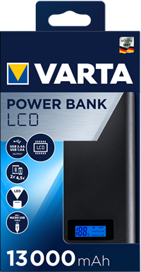 LCD Power Bank 13000